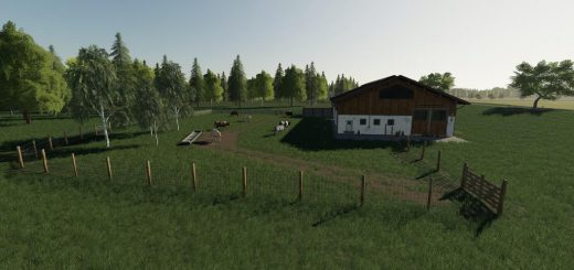 Placeable Large Cow Pasture v 1.0