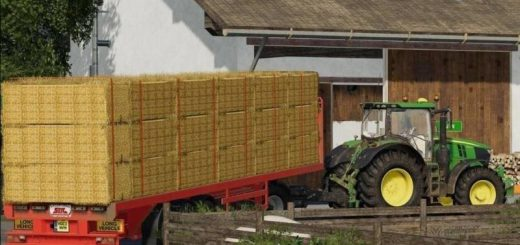 SDC Flatbed Trailer with Autoloads v 2.0