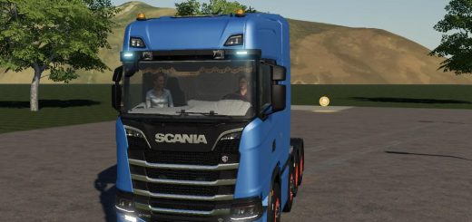 Scania R730 8x4 v 1.0