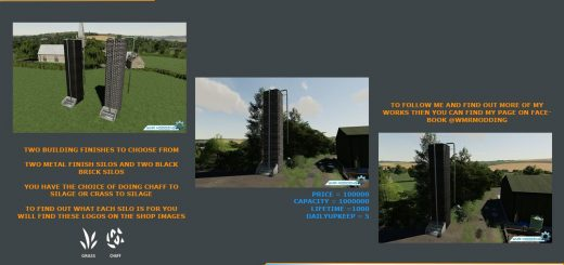 Silage Production Tower Pack v 1.0