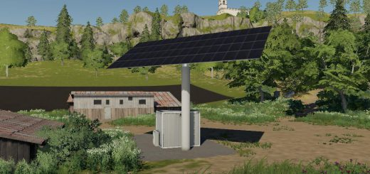 Solar Collecting Single Array Unit - Large v 1.0
