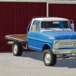 1972 Ford F100 Bumpside v 1.0