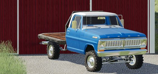 1972 Ford F100 Bumpside v 1.0
