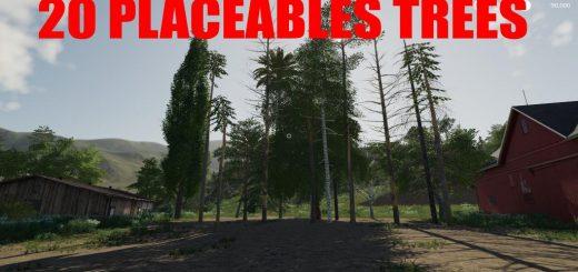 20 Trees Pack v 1.0
