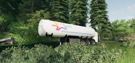 Campina Milk Trailer