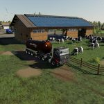 Cowshed 2000 without animal limit + no pollution + accessories v 1.3