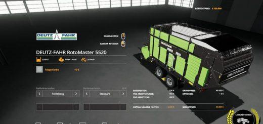 DEUTZ-FAHR Grassland Pack v 1.0