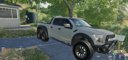 Ford Velociraptor 6x6 Remake v 1.0