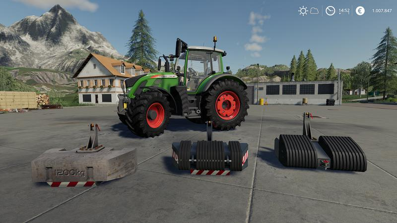 Front Weights Pack v 1.0