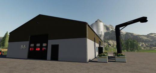Hall with silo v 3.0