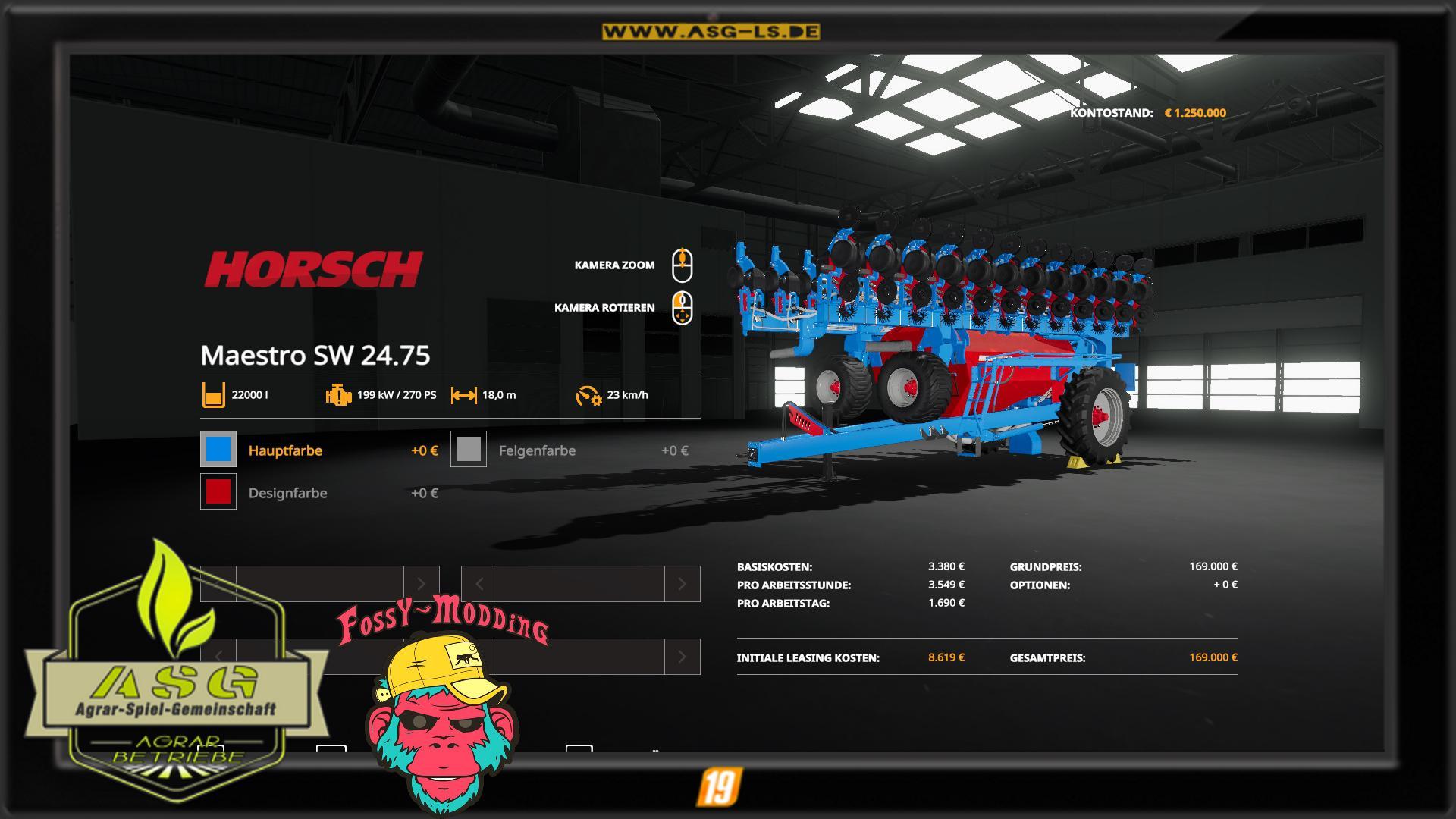 Horsch Maestro SW2475 v 1.0