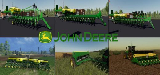 JOHN DEERE SEEDERS PACK v 1.0
