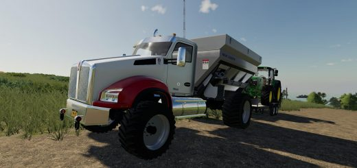 Kenworth T880 Spreader v 1.0