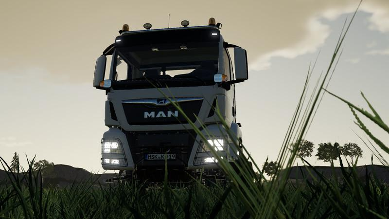 MAN TGS 18500 Tom and Jerry v 1.0