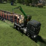 MAN TGX Forest Semitrailer Pack v 1.0