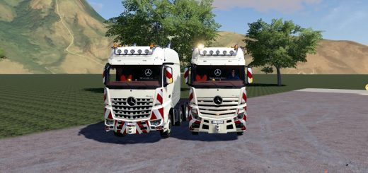 Mercedes Actros Arocs SLT 8x4v 1.0