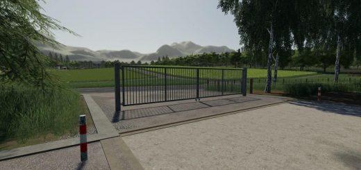 Metal Gates Prefab v 1.0