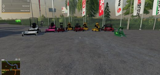 Mower pack v 1.1