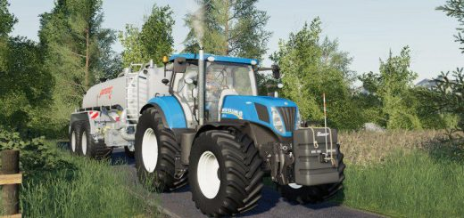 New Holland T7 update v 1.0