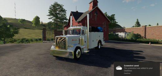 PETERBILT 389 SERVICE TRUCK v 1.0