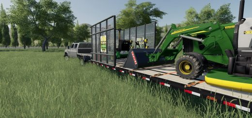 PJ 40ft Lawn Care Trailer v 1.0
