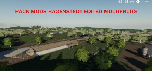 Pack Mods Hagenstedt Edited MultiFruit v 1.0