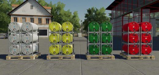 Pallets With Barrels v 1.0