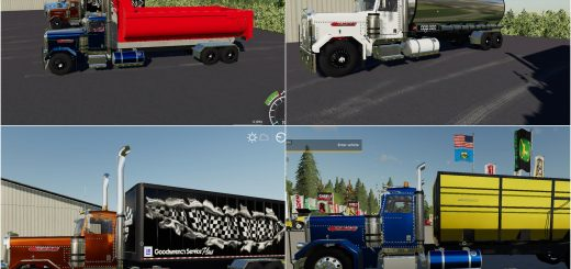 Peterbilt Trucks Pack v 1.0