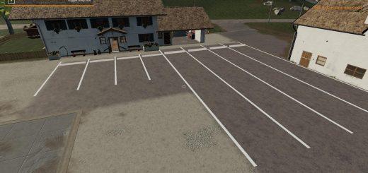 Placeable parking spot modpack v 1.0