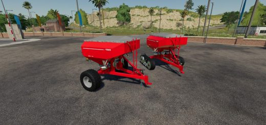 RAUCH AXIS-H EMC Trailed Spreader v 1.0