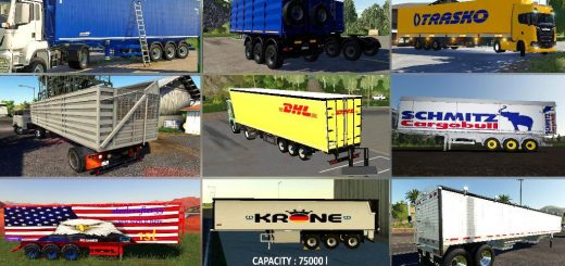 Semi TRAILER PACK v 1.0