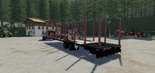 TJ 40FT Log Trailer v 1.0