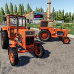 Universal UTB Old Romanian Pack Tractors v 1.0