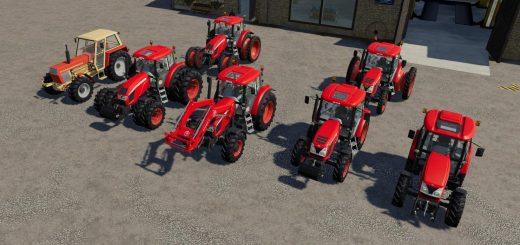 Zetor Tractors Pack v 1.1
