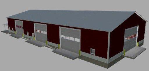 72x160 workshop shed v 1.0