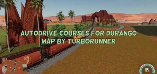 AutoDrive courses for Durango map by Turborunner