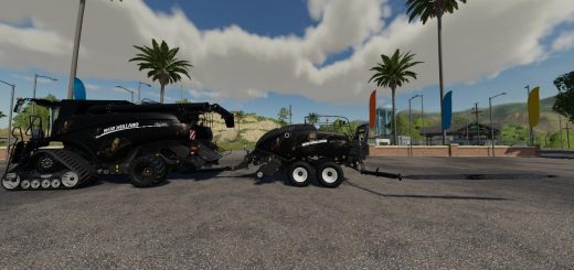 Bones New Holland Pack Eagle355th VE v 1.0