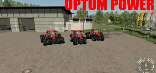 Case IH Optum Power 650HP v 1.0