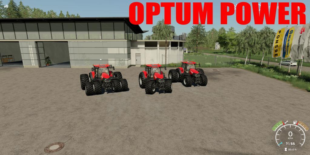 Case IH Optum Power 650HP v 1.0
