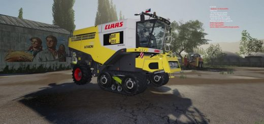 Claas Lexion USA 700 series Quacky duck cz v 1.0