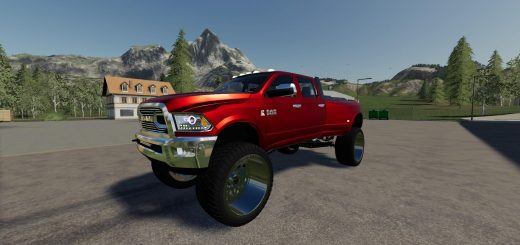 Dodge Ram 3500 Lifted v 3.0