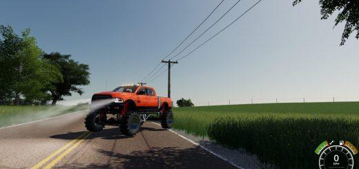 Dodge power wagon lifteed v 1.2