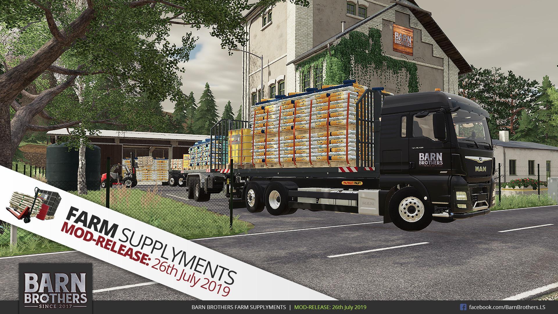 FARM SUPPLYMENTS - Seasons Addon v1.0