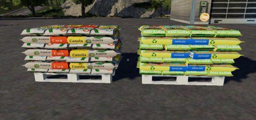Fertilizer seeds pallets By BOB51160 v 1.0