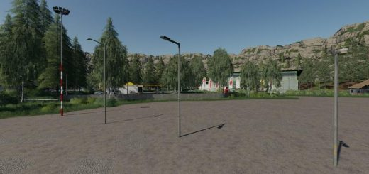 Floodlight And Streelights Set v 1.0