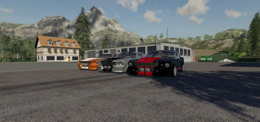 Ford Mustang GT500 Eleanor v 1.0