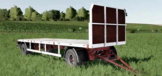 Homemade bale trailer SUN 2005 v 1.0