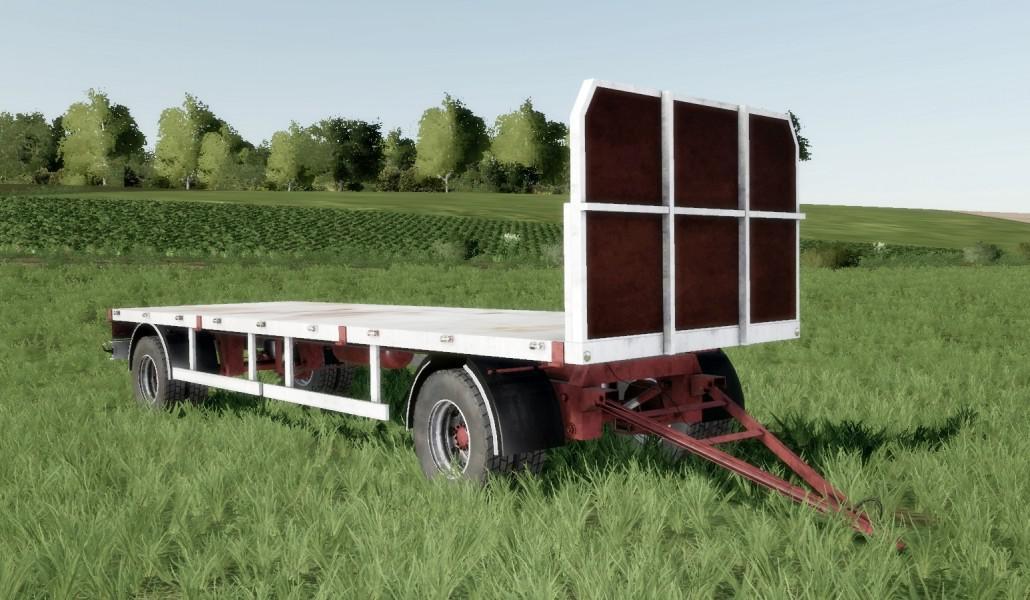 Homemade bale trailer SUN 2005 v 1 0 | FS19 mods, Farming