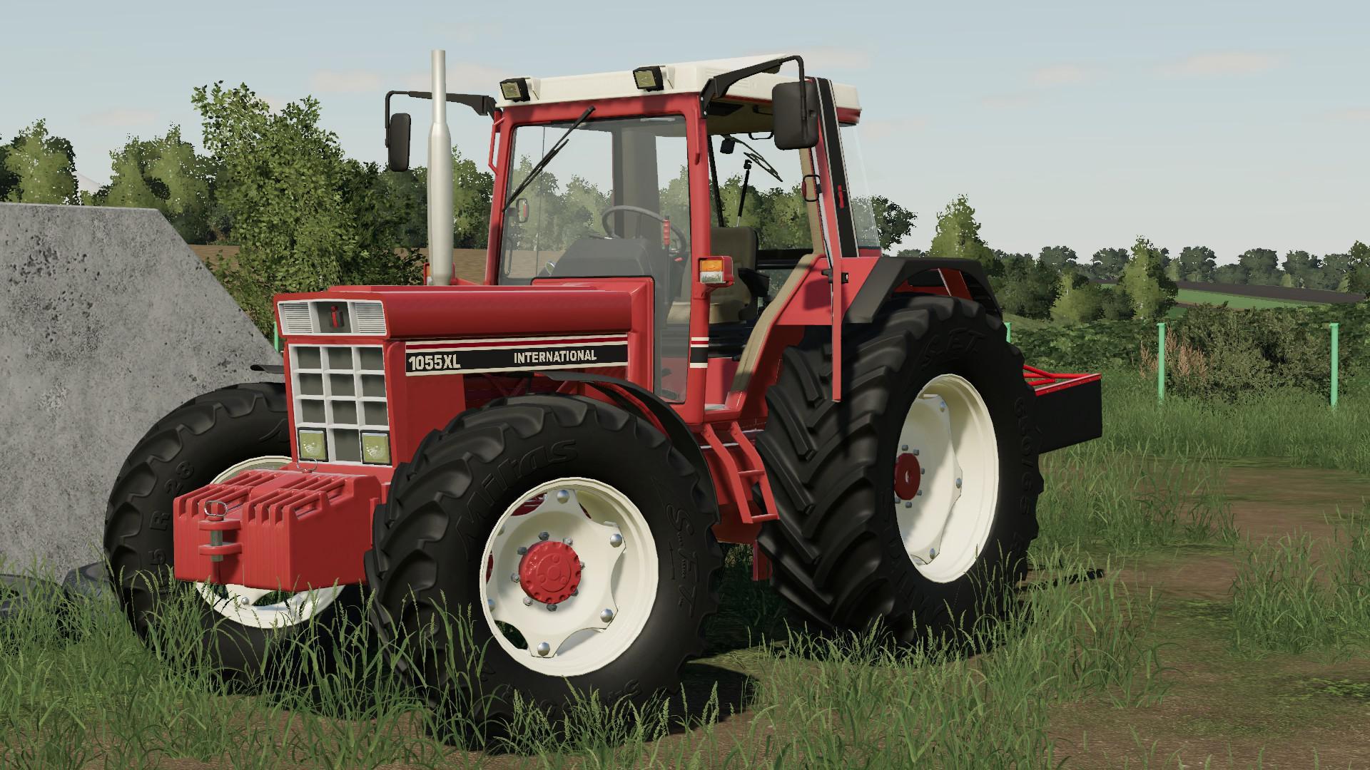 185R Traktormeterwelle mit Anschluß Case IHC 955 956 1055 und 1056 XL