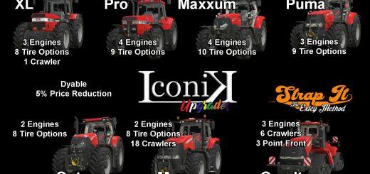 Iconik Case Tractors v1.0
